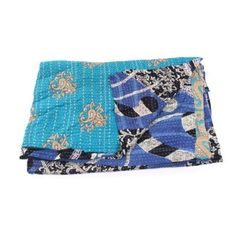 Check out this item at One Kings Lane! Hand-Stitched Kantha Throw