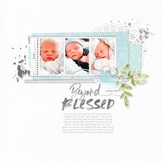 Beyond Blessed | Digital Scrapbooking Community - Katie Pertiet Designs Beyond Blessed, Watercolor Sketchbook, Life Without You, Uk Post, Cute Little Things, My Memory, Pretty In Pink, Digital Scrapbooking, Daddy