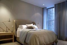 bedroom - A three-storey loft by Paul Cha is Architect