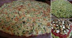 Máte radi pizzu, no bojíte sa, že z nej priberiete? Vyskúšajte túto fitness variantu. Základom tejto výbornej a zdravej pizze je cuketové cesto. Obložíme ľubovoľnými surovinami podľa chuti...