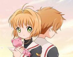 Sakura and Teddy Bear