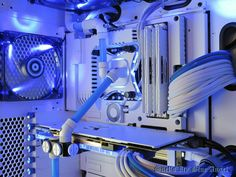"""Gaming Rig from Snef Design codename : """" Icy Blue Angel """" - Cold hearth"""