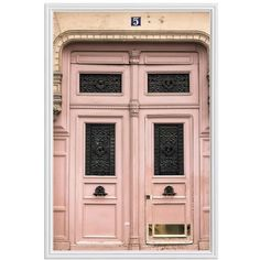 Pottery Barn Paris Pretty in Pink by Rebecca Plotnick (1.280 DKK) ❤ liked on Polyvore featuring home, home decor, wall art, backgrounds, paris, pink, decor, images, filler and borders