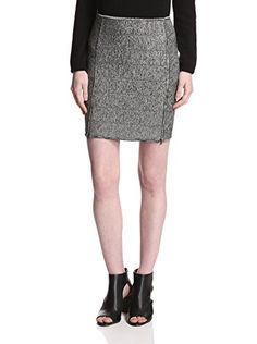 Surface to Air Women's Cosmo Skirt (Grey Melange)