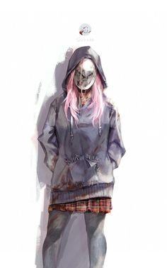 Dead by Daylight Horror Drawing, Horror Art, Apocalypse, Zombie Girl, Michael Myers, Anime Art Girl, Character Art, Cool Girl, Marvel