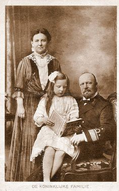 Flickriver by Miss Mertens, via Flickr:  Queen Wilhelmina, Prince Consort Henrik and Princess Juliana of the Netherlands