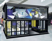 S-CSL (Final Year Project 2) - Exhibition Booth Design by Vicky Chan, via Behance