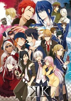 K Project (lol I love Fushimi and Yata in this)