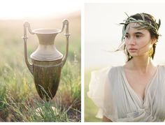 Greek Goddess Styled Shoot by Jose Villa Photography