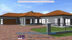 4 Bedroom House Plans, My House Plans, Model House Plan, Good House, Home Design Plans, Facade House, Dream Houses, My Dream Home, Bedrooms