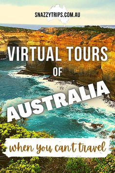 When we can't travel, virtual tours are the next best thing. Enjoy these amazing virtual tours of Australia I've selected for you. You will be inspired to visit in the future. #virtualaustralia #australiatravel #virtualtravel #virtualtours #onlinetravel Brisbane, Sydney, Virtual Travel, Virtual Tour, Great Barrier Reef Tours, World Travel Guide, Travel Tips, Travel Guides, Oregon
