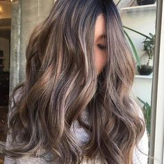 The Best Hair Color Ideas for Brunettes: Icy Babylights