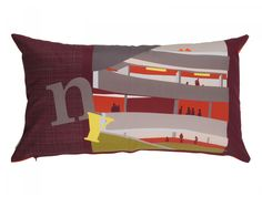 Cushion: NY Guggenheim by COCOhellein