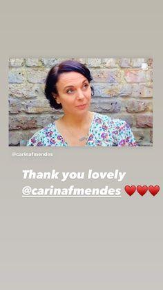 Amanda Abbington, Instagram