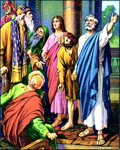 Peter and John before the Sanhedrin