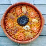 Primer arroz al horno del año en Noruega con magnum de morcilla de arroz Rios. #morcilla #arroz #quepasada #meencanta #cocinaconpoco #singluten #arrozalhorno