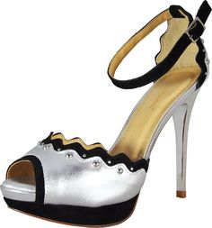 Bruno Menegatti 10495882 Women's Leather Platform Sandal >>> You can find out more details at the link of the image.