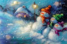 20 картин для создания новогоднего настроения в доме - Ярмарка Мастеров - ручная работа, handmade