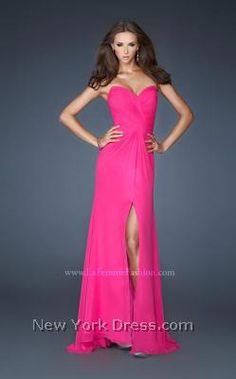 Hot pink done right by Gigi 18961 - NewYorkDress.com
