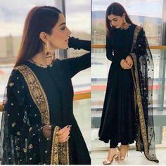 Pakistani Dresses Casual, Indian Gowns Dresses, Indian Fashion Dresses, Pakistani Dress Design, Indian Outfits, Indian Wedding Outfits, Pakistani Bridal, Eid Outfits, Pakistani Party Wear