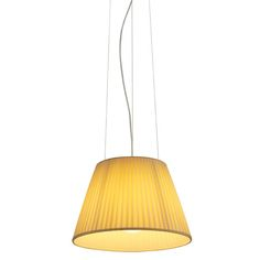 Romeo Soft S Modern Pendant Lamp designed by Philippe Starck from FLOS Element Lighting, Lighting Design, Pendant Lamp, Pendant Lighting, Flos Lamp, Classic Lighting, Diffused Light, Drum Shade, Timeless Design