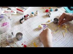 Tsum Tsum fondant Elsa Frozen tutorial - YouTube