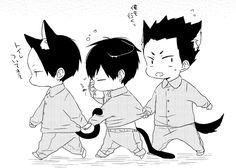 kunimi akira, kageyama tobio & kindaichi yūtarō | haikyū