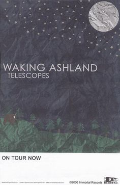 Original promotional poster for the Waking Ashland CD Telescopes. 11 x 17 on card stock paper. Hipster Decor, Concert Posters, Movie Posters, Rock N Roll, Card Stock, Paper, Cards, Rock Roll, Film Poster