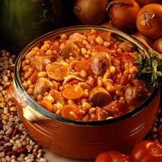 Découvrez la recette Cassoulet espagnol sur cuisineactuelle.fr.