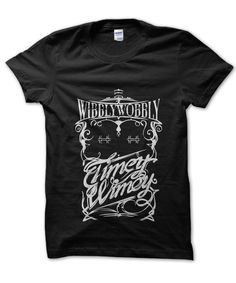 Wibbly Wobbly Doctor Who t-shirt by Clique Wear Doctor Who Shirts, Very Well, Mens Tops, T Shirt, How To Wear, Handmade, Stuff To Buy, Clothes, Fandom