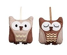 Cute owl lavender bags, previously sold at John Lewis.  Reposted from owl-stuff.com