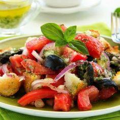 Panzanella, salata din Toscana