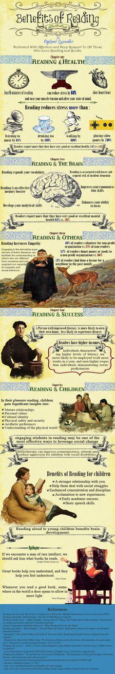 Les bienfaits de la lecture... Fascinant 📖💕