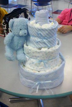 Second diaper cake