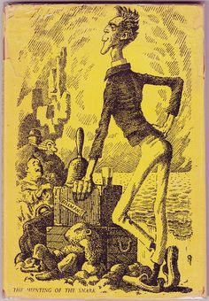 1964 Lewis Carroll, The Hunting of the Snark, illustrated by Mervyn Peake (London: Chatto & Windus, 1964).