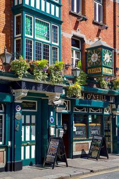 Read More About .~O'Neill's Pub - Dublin, Ireland~....
