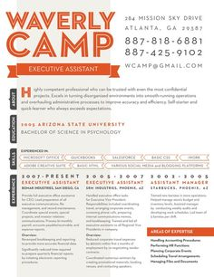 Resume Design - #resume #howto #layout #CV #infographic