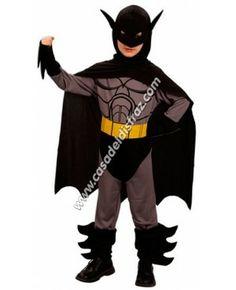 Disfraz de niños Murciélago, parecido a Batman. #Disfraces #Carnaval www.casadeldisfraz.com