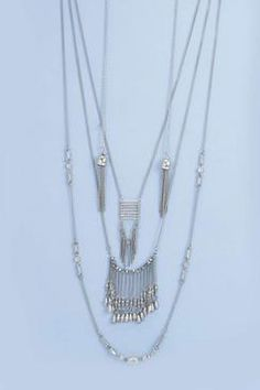Boutique Front And Back Layered Necklace