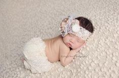 Soft Colors Headband Baby/Girl Headband Elegant by AldonasBoutique, by sandy