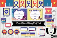 Steven Universe Printable Party Pack unofficial by PFKimmerle