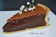 Pasca cu ciocolata fara branza ~ Bucataria Irinei...