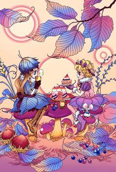 Anime Art Girl, Manga Art, Anime Manga, Maho, Honey And Clover, Chef D Oeuvre, Manhwa Manga, Vintage Comics, Magical Girl