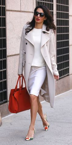 Amal Clooney's Most Stylish Looks Ever - April 6, 2015 - from InStyle.com