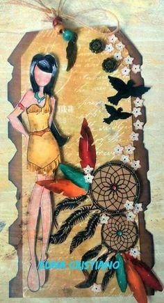 Pocahontas by Edna Cristiano.