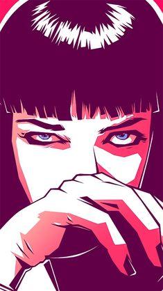 Pics For > Pulp Fiction Wallpaper Hd Cartoon                                                                                                                                                                                 More