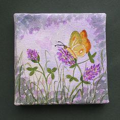 Miniature Painting Original Art  Mini Box Canvas' 2. by greanbea, $11.50