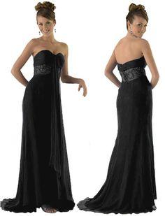 black evening dresses 2013 Black Evening Dresses to Be Worn to a Wedding