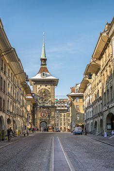 Bern in winter. Switzerland