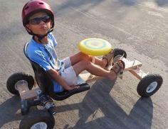 DIY Go Kart Powered by Drill Motor